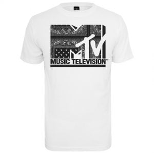 Vit T-shirt MTV I Am Music