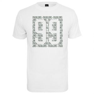 Vit T-shirt 99 Problems Lines