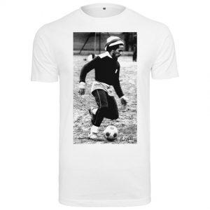 Vit T-shirt Bob Marley Soccer
