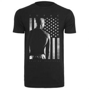 Svart T-shirt Tupac President