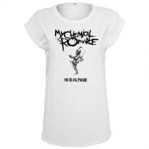 Vit T-shirt My Chemical Romance Black Parade