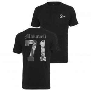 Svart T-shirt Tupac Makaveli 71