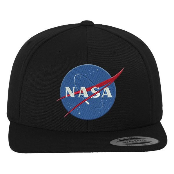 Svart Keps Snapback NASA Logo