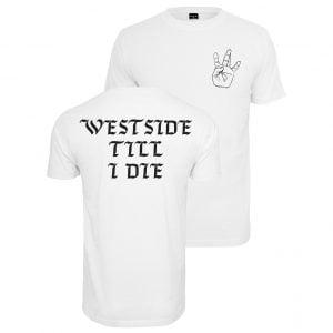 Vit T-shirt Westside Till I Die