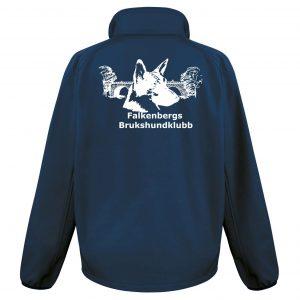 Falkenbergs Brukshundklubb Marinblå/Blå Softshelljacka