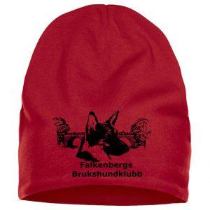 Falkenbergs Brukshundklubb Röd Mössa Fleecefoder