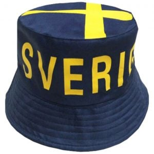 Blå/Gul Solhatt Sverige