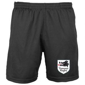 Tranemo Razorbacks Rugby Club Svarta Sportshorts