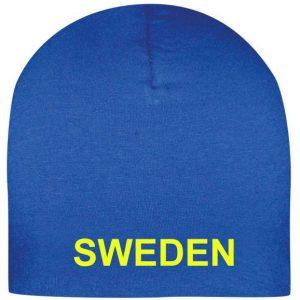 Royalblå Sverigemössa Sweden