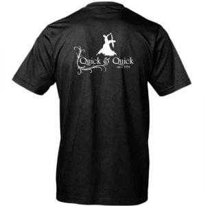 Dansklubben Quick & Quick Svart T-shirt