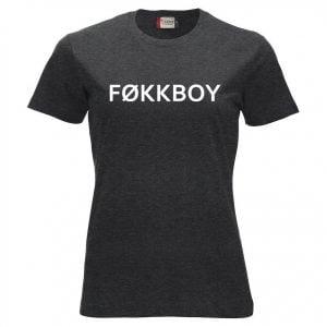 Mörkgrå T-shirt Føkkboy SKAM