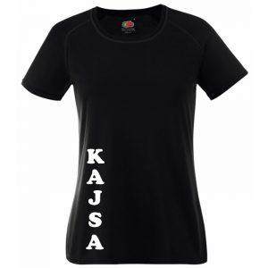 Athena IK Svart Funktions T-shirt Ledare