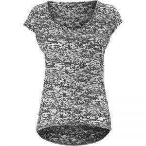 Mörkgrå T-shirt Melerad Spräcklig UC