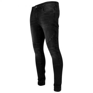 Svarta Denimbyxor Biker Slim Fit UC