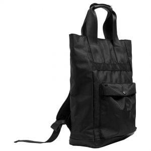 Svart Ryggsäck med Handtag UC Höger Framsida