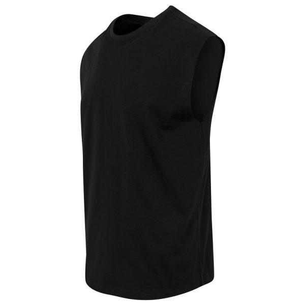 Svart Ärmlös T-shirt Open Edge UC