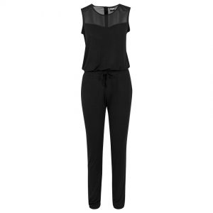 Svart Jumpsuit Tech Mesh UC