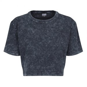 Mörkgrå Kort T-shirt Random Wash Oversized UC