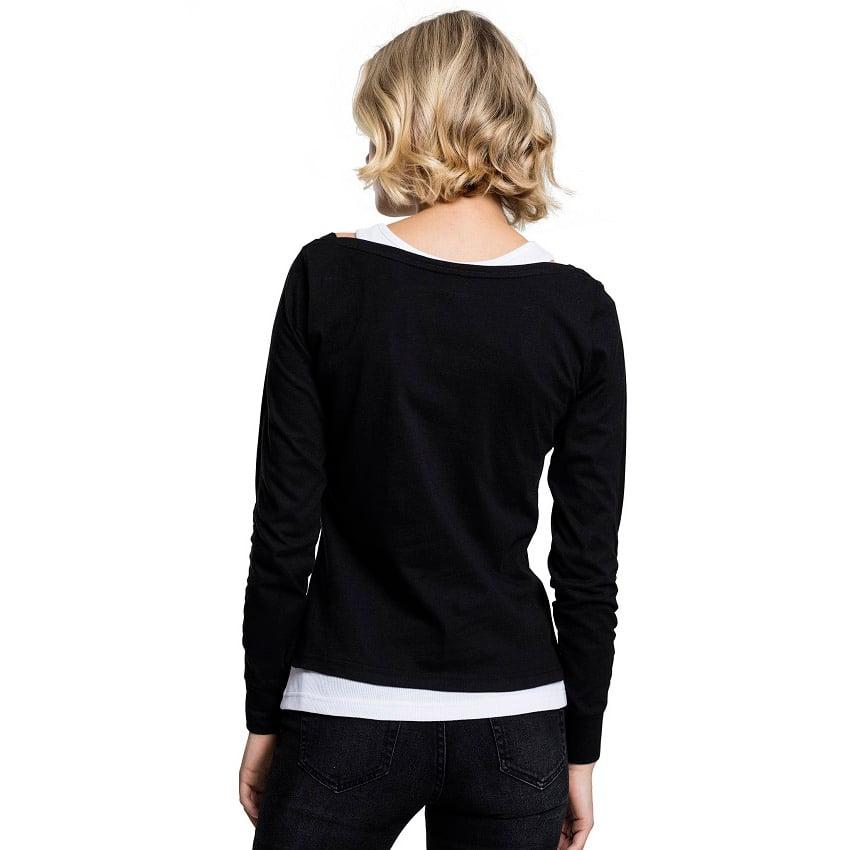 Långärmad T shirt 2 Lager UC | Dam