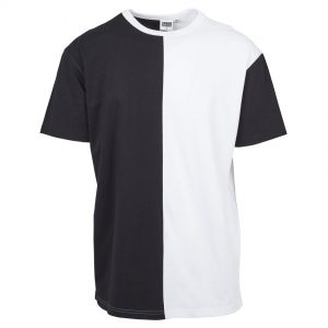 Svart/Vit T-shirt Harlequin Oversize UC