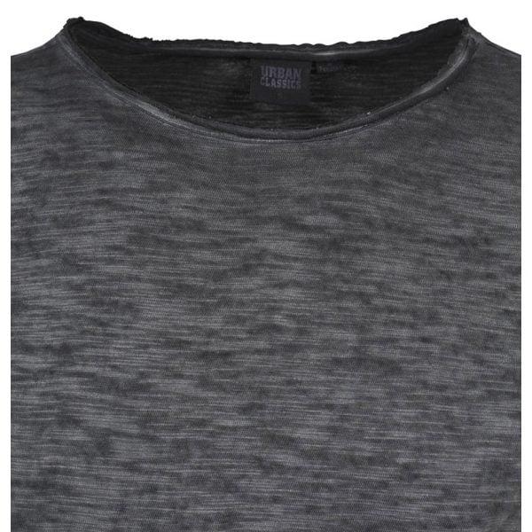 Svart T-Shirt Cold Dye Slub UC