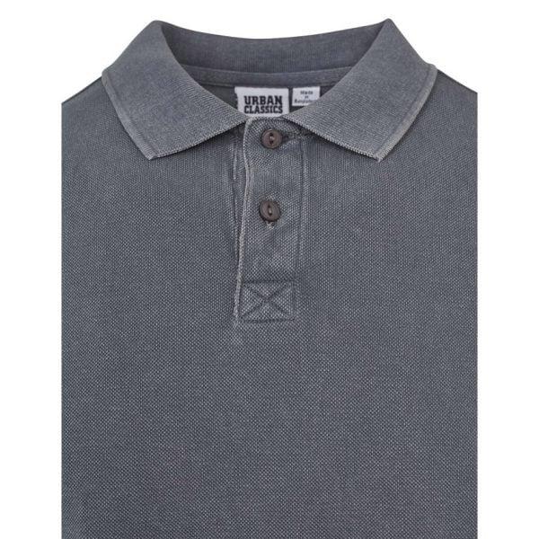 Grå Piké Garment Dye UC