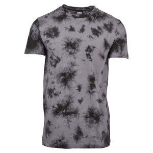 Grå/Svart T-Shirt Batik UC
