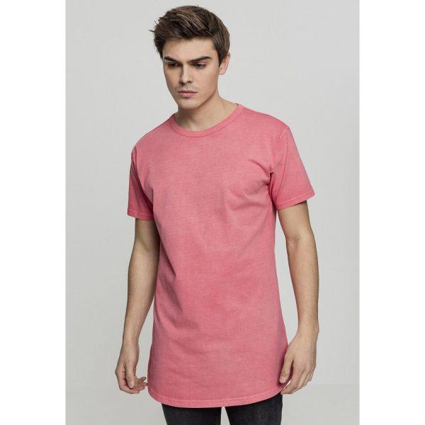 Korall Lång T-shirt Garment Dye Peached UC