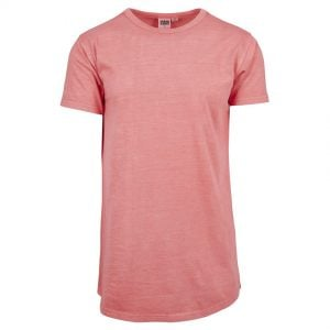 Korall Lång T-shirt Garment Dye Peached UC