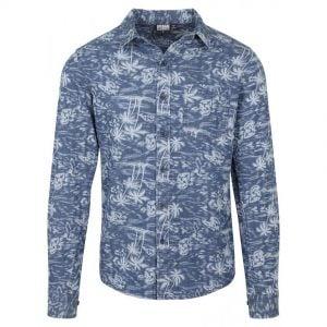 Blå Jeansskjorta Palm UC