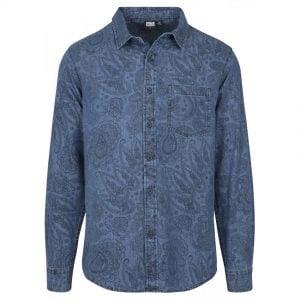 Blå Jeansskjorta Paisley UC
