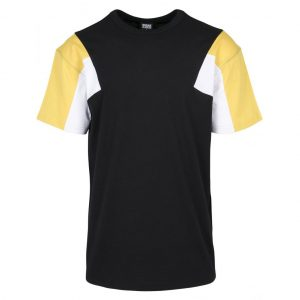 Svart/Gul/Vit T-shirt 3-Tone UC