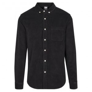 Svart Manchesterskjorta Button Down UC