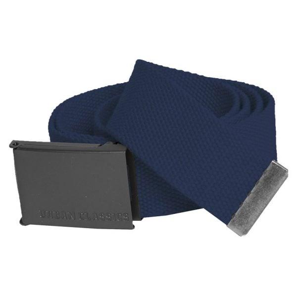 Marinblått Canvas Bälte UC