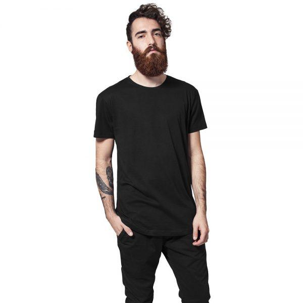 Svart Lång T-shirt UC