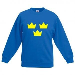 Royalblå Tre Kronor Sweatshirt