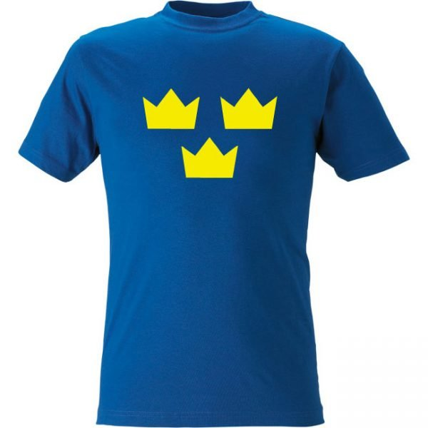 Blå Tre Kronor T-shirt