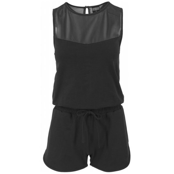 Svart Hot Jumpsuit Tech Mesh UC