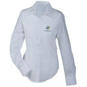 Medborgerlig Samling Vit Långärmad Skjorta