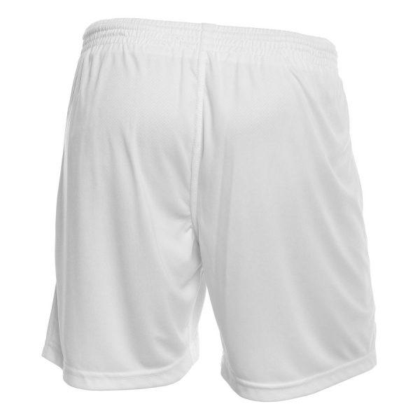 Vita Shorts Fotboll Umbro Valencia Baksida