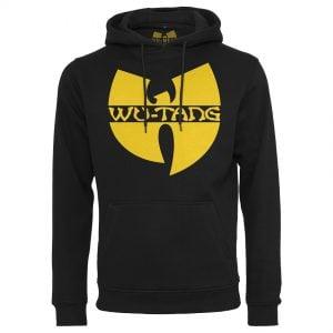 Svart Hoodtröja Wu-Tang Logo