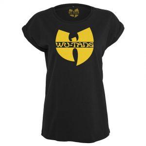 Svart T-shirt Wu-Tang Logo