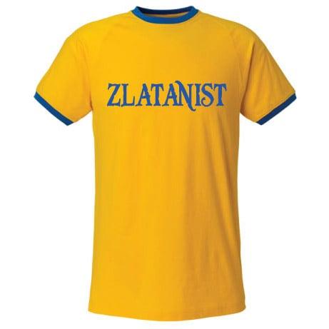 Gulblå Zlatanist T-shirt Zlatan