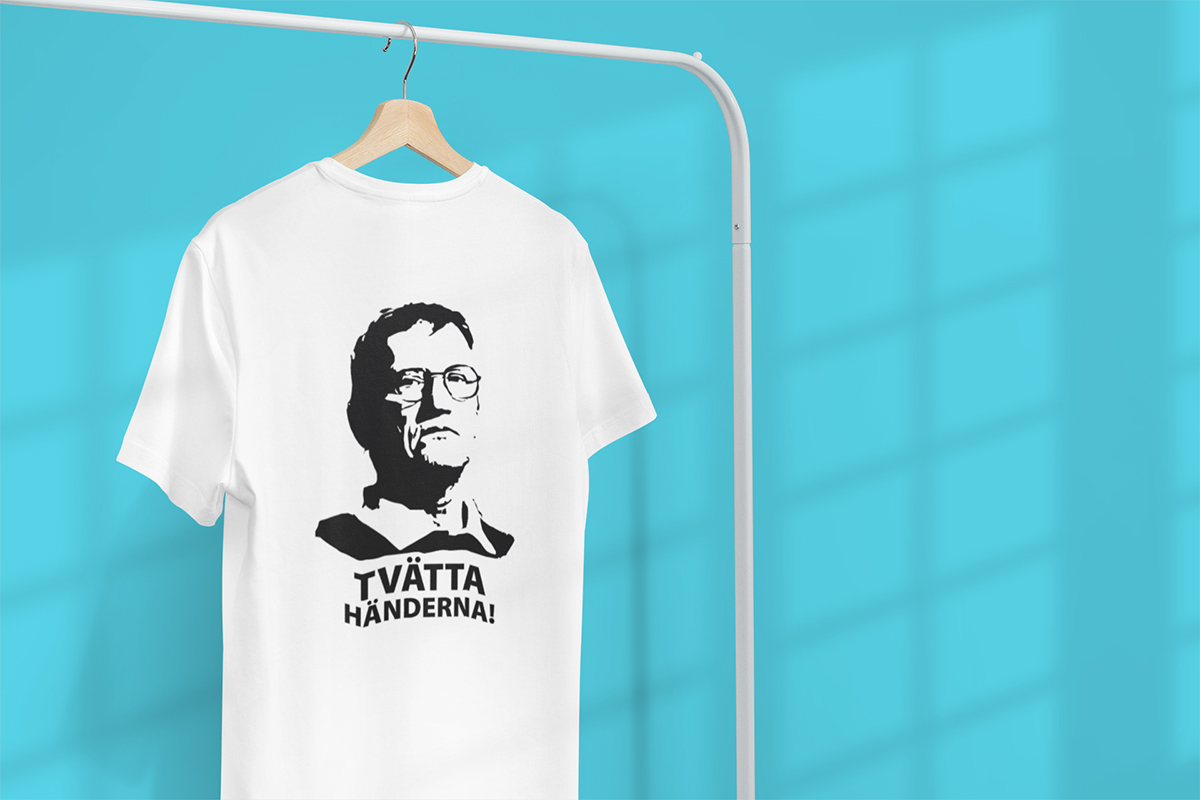 T-shirt Anders Tegnell