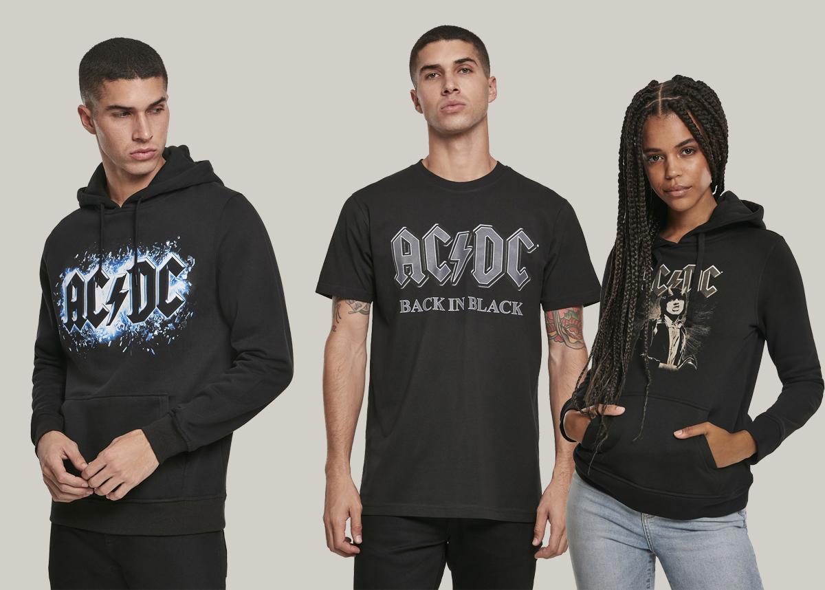 AC/DC merch kläder